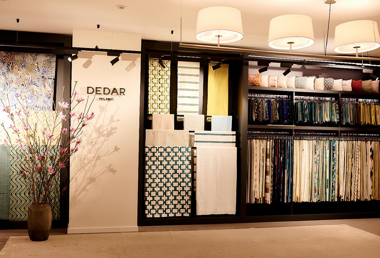 Відкриття корнера текстилю Dedar в Києві