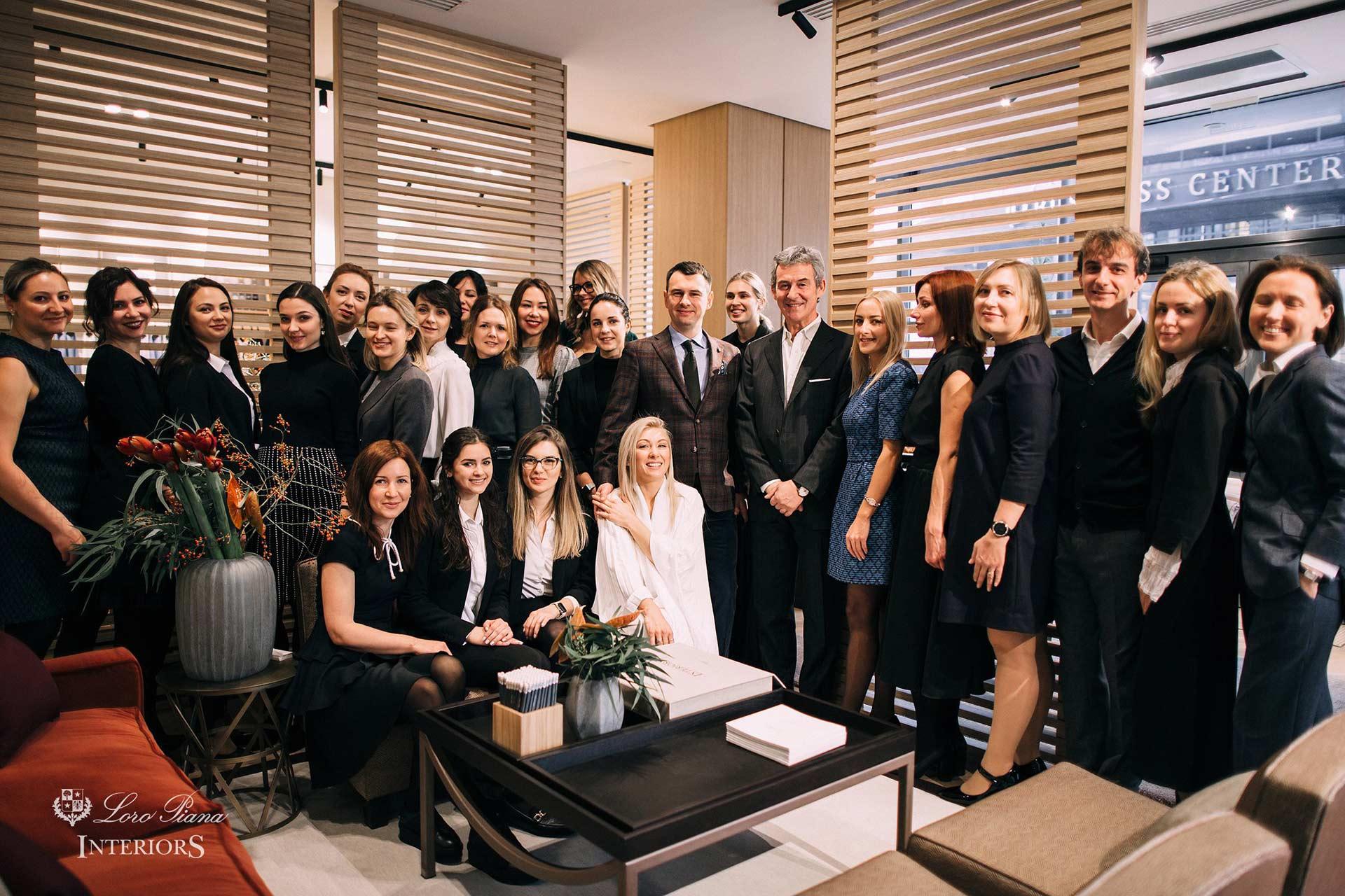 Грандіозне відкриття шоу-руму Loro Piana Interiors в Києві